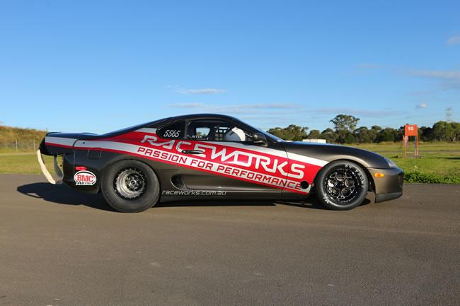 raceworks motorex expo car