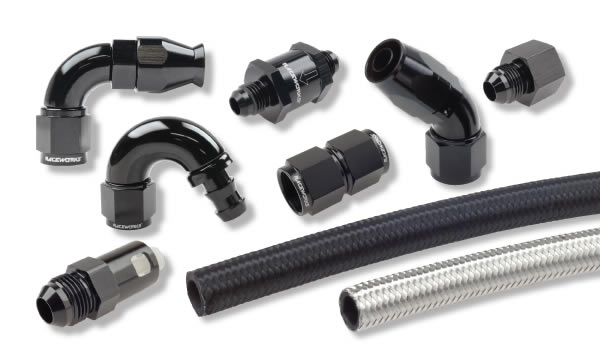 raceworks hose and fittings