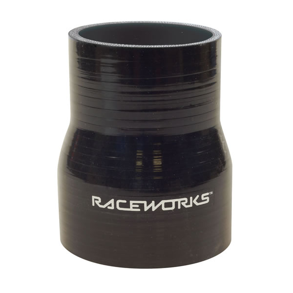 Silicone Hose Straight Reducer Black