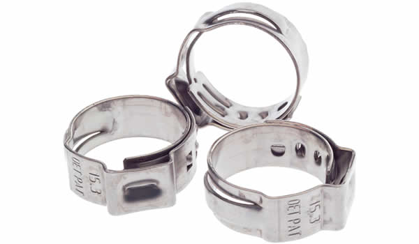 FSA-007-H hose cl&s  sc 1 st  Raceworks & Raceworks Hose u0026 Fittings - Accessories - Hose Clamps - Crimp Type ...