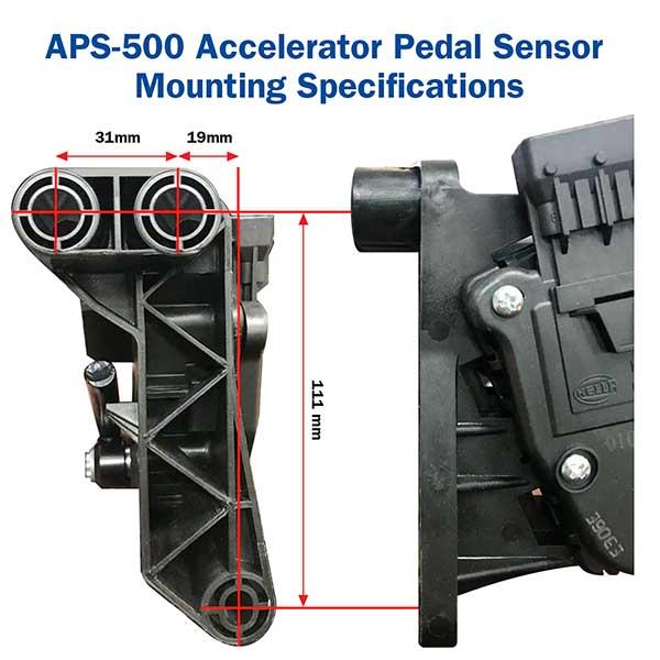 APS-500 mounting